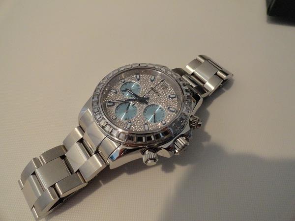 Rolex Daytona Diamonds Replica Watch Photo Review