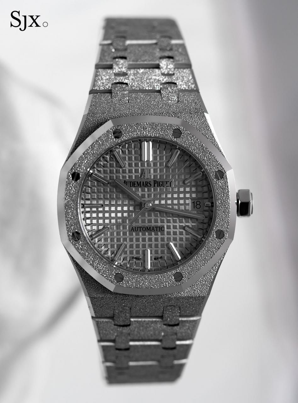AP Royal Oak Frosted Gold white gold 1