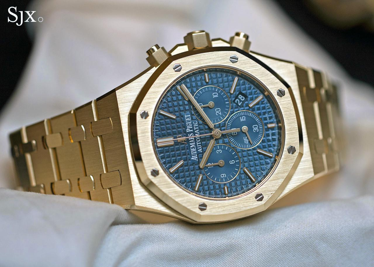 Audemars Piguet Royal Oak Chronograph 41 mm yellow gold 5