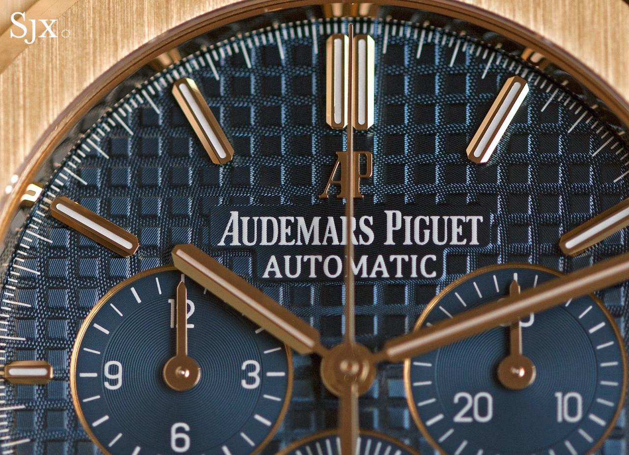 Audemars Piguet Royal Oak Chronograph 41 mm yellow gold 6