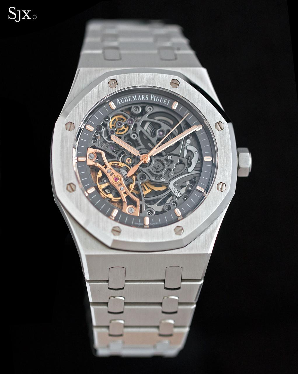 Audemars Piguet Royal Oak Double Balance Wheel Openworked Steel 2