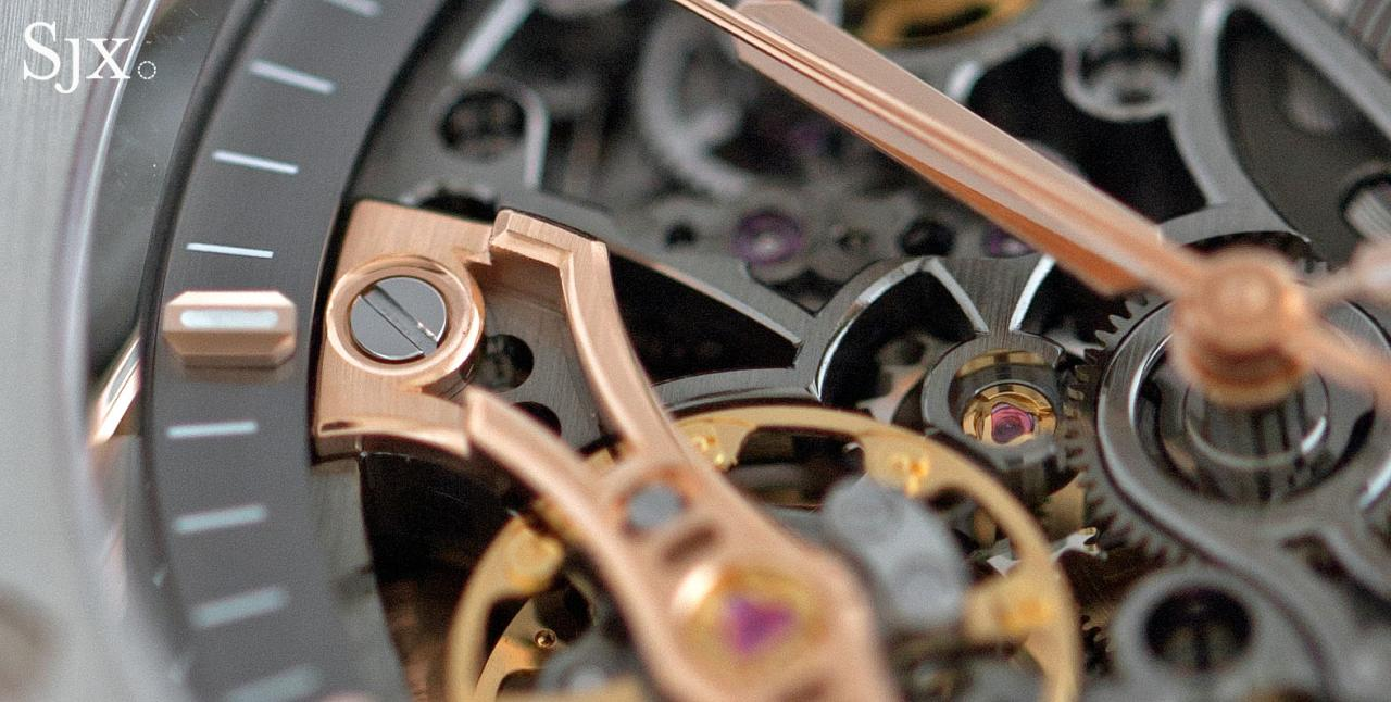 Audemars Piguet Royal Oak Double Balance Wheel Openworked Steel 4