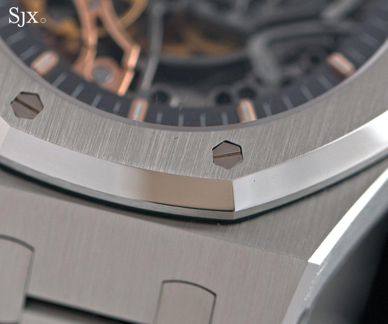 Audemars Piguet Royal Oak Double Balance Wheel Openworked Steel 5