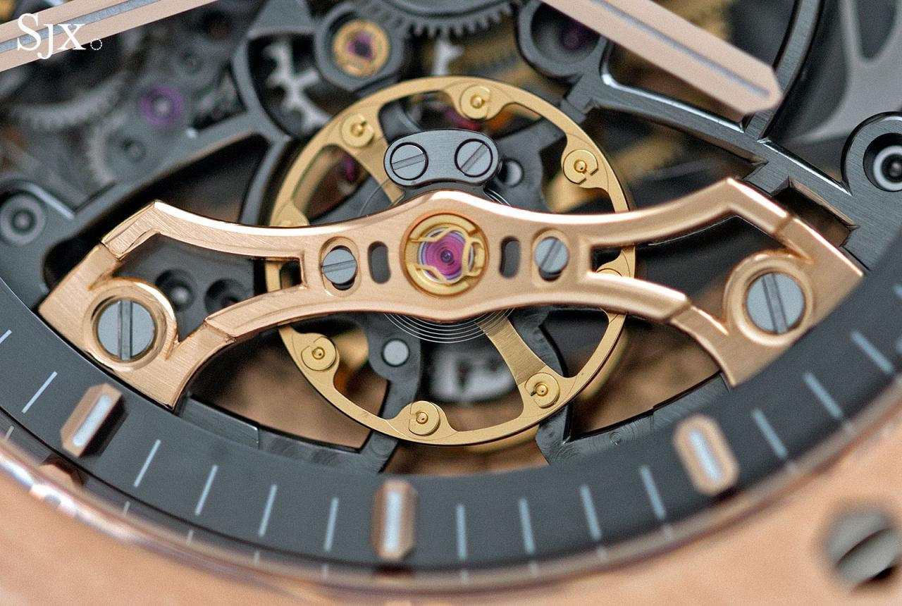 Audemars Piguet Royal Oak Double Balance Wheel Openworked pink gold 3