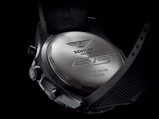 Breitling for Bentley GT3 - Caseback