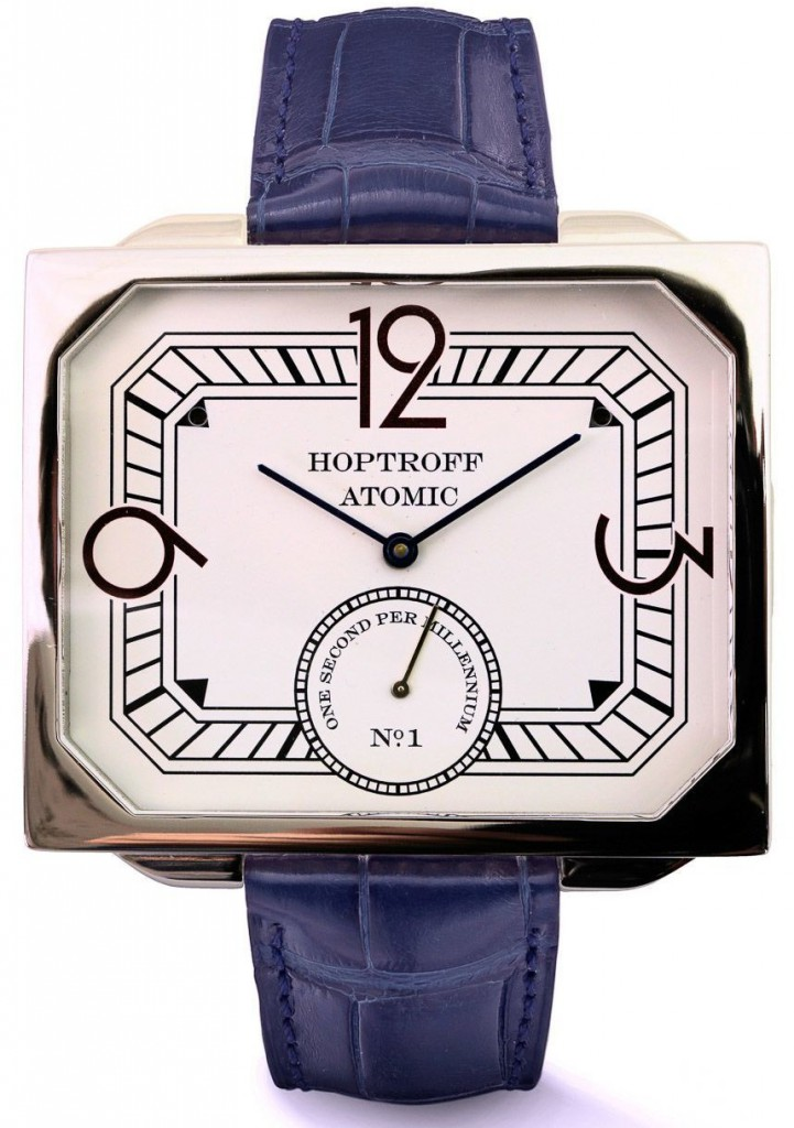 Replica Hoptroff Atomic Watches With Rhodium-plated Metal Or 18k Yellow Gold
