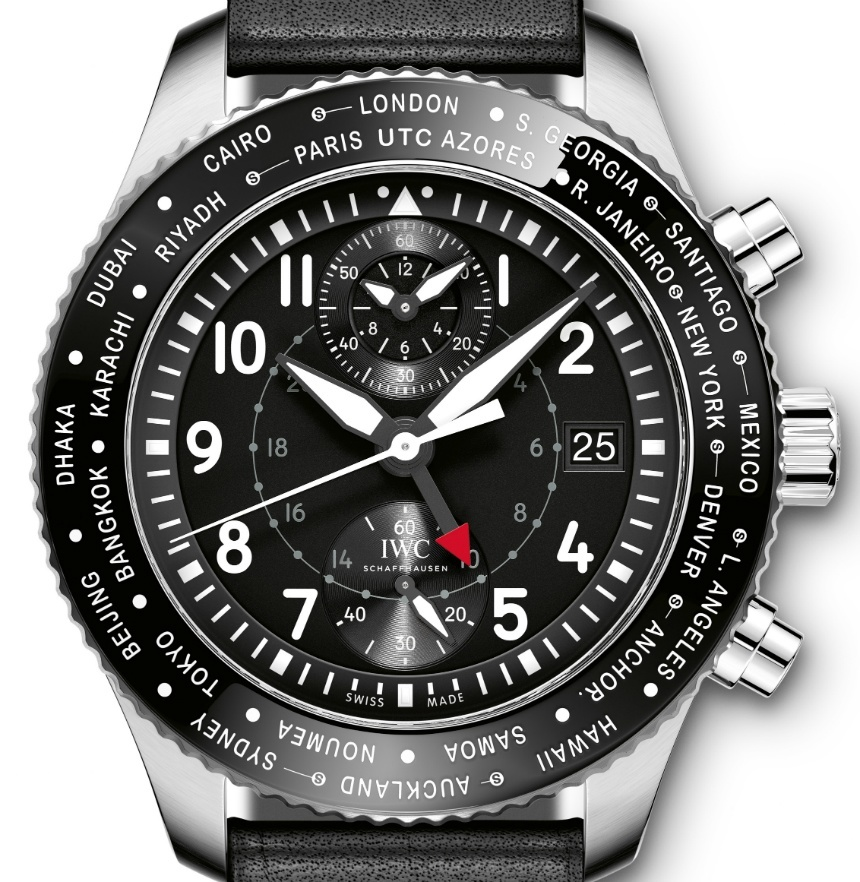 Introducing The New IWC Timezoner Chronograph Replica Watch