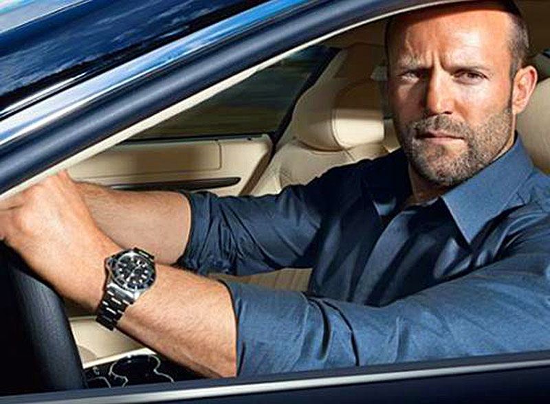 Jason Statham wear a Replica Rolex Submariner