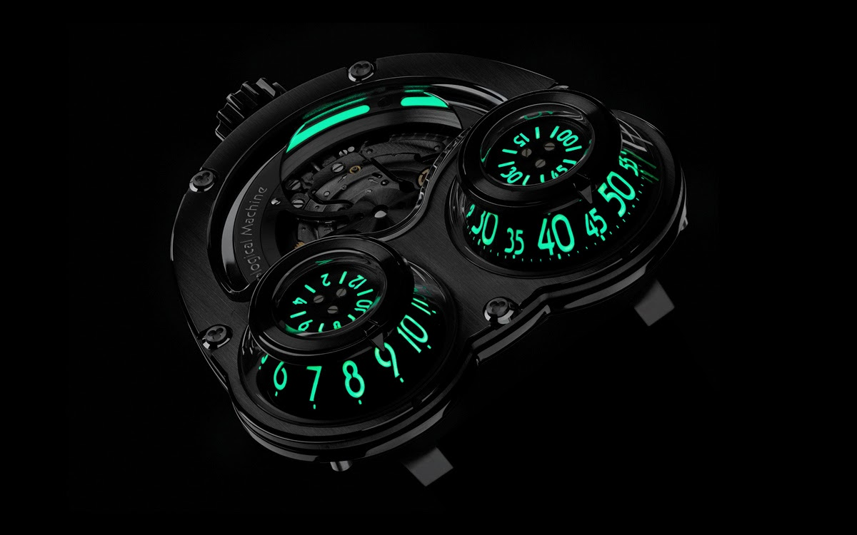 Limited Edition Watch Series:MB&F HM3 Megawind Final Replica