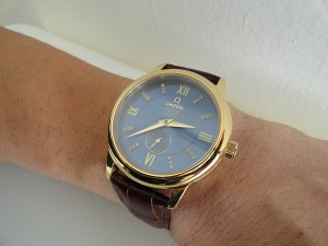 Omega-DeVille-Yellow-Gold-replica-watch