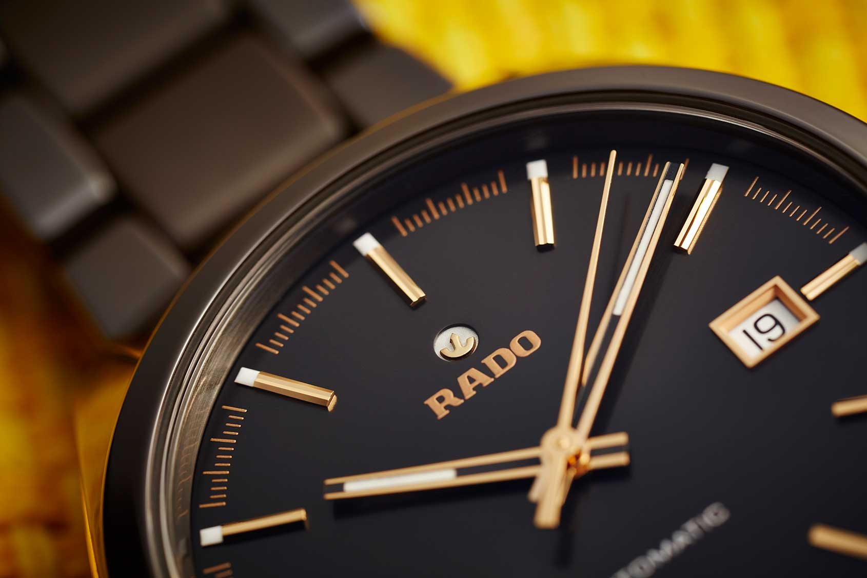 Rado Replica Automatic Watch Testing - HyperChrome Brown Ceramic