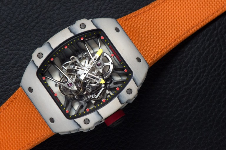 On the Wrist:Richard Mille Rm 27-02 Rafael Nadal Replica Men's Watch