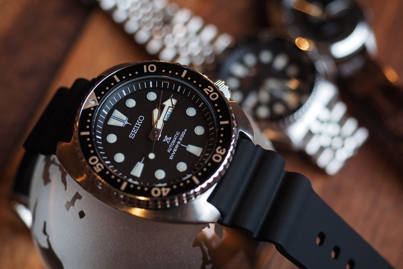 Hands-on The Classic Seiko Prospex Turtle Diver Replica Watch