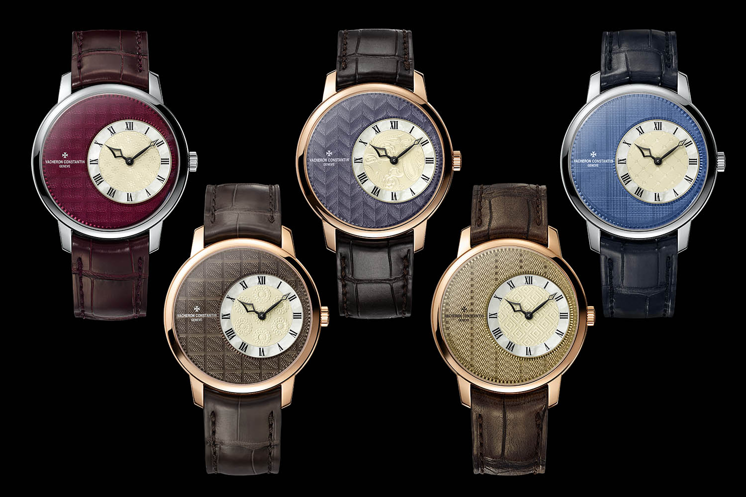 Execllent Vacheron Constantin Replica Metiers d'Art Classiness Sartoriale, Inspired From The Typical Masculine Clothing