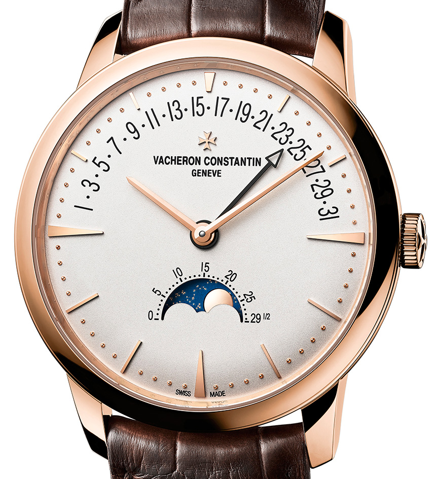 Vacheron Constantin's New Patrimony Moon Phase Retrograde Date Replica