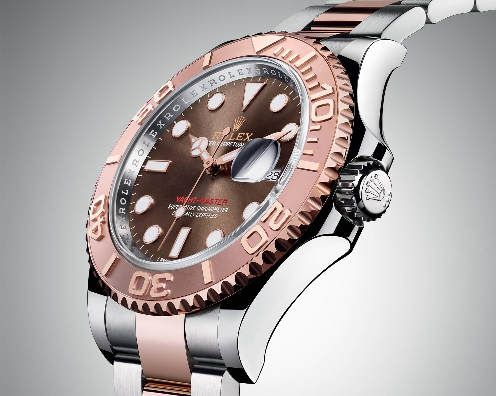 Rolex replica Yacht-Master 116621 With A Full Gold Crown