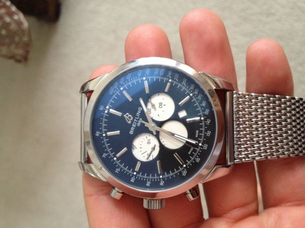 Breitling Transocean Replica Watch - Epic Fail