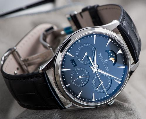 Jaeger-LeCoultre Master Ultra-Thin Perpetual stainless steel